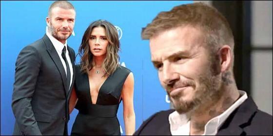 Los comentarios de David Beckham que hicieron llorar a su esposa Victoria