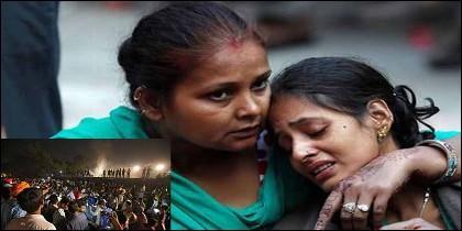 India: parientes de las víctimas de la tragedia del tren en Amristar