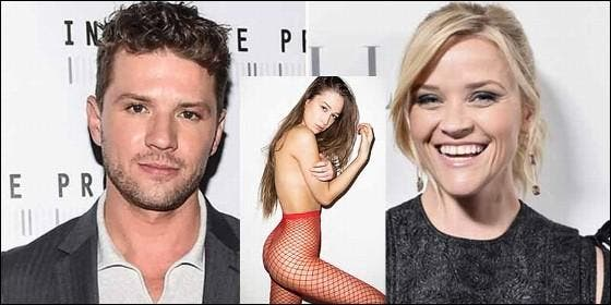 Ryan Phillippe, Elsie Hewitt y Reese Witherspoon.