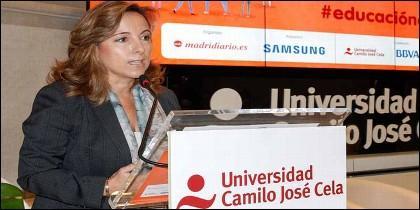 Nieves Segovia Bonet, presidenta de la Institución Educativa SEK-Universidad Camilo José Cela.