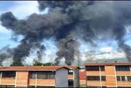 Incendio en una planta de llenadero de PDVSA en Venezuela