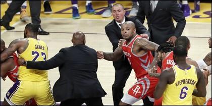 Pelea en la NBA