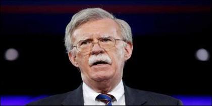 El asesor de Seguridad Nacional de los Estados Unidos, John Bolton