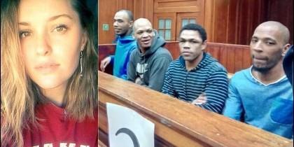 Hannah Cornelius y sus violadores y asesinos.