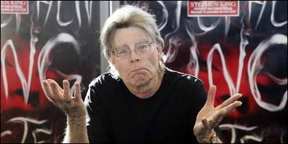 El escritor de novelas de terror Stephen King.