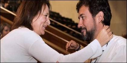 Carolina Bescansa y Antón Gómez-Reino (PODEMOS).