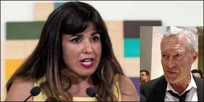 Teresa Rodríguez (PODEMOS) y Jorge Verstrynge.