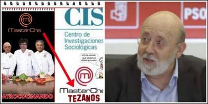 Coñas en la red con la cocina del CIS de Tezanos.