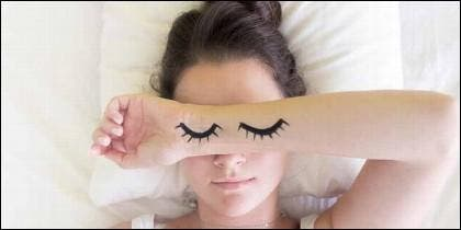 Dormir, sueño, descanso y horario.