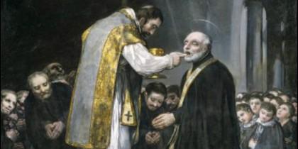 El cuadro de Goya 'La última comunión de San José de Calasanz'