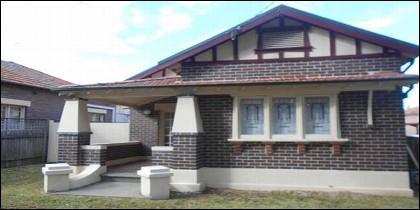 La casa que se ha quedado el 'okupa' Bill Gertos.