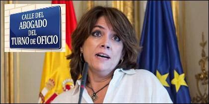 Gobierno Sánchez: La ministra de Justicia, Dolores Delgado.