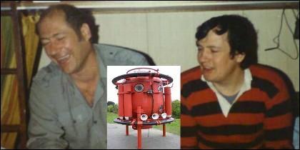 Roy Lucas y Bill Crammond, los buzos que murieron en el accidente de Byford Dolphin.