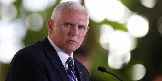 'Estamos con ustedes': vicepresidente de EE. UU. a venezolanos