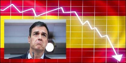 El socialista Pedro Sánchez, el PSOE y la crisis en España.