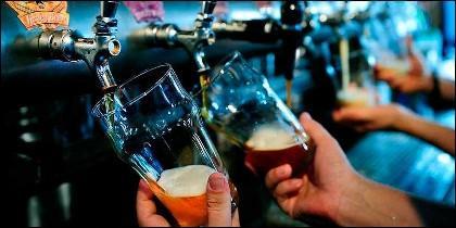 Consumo de alcohol en bares