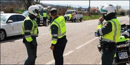 Unidades de la Guardia Civil de Tráfico