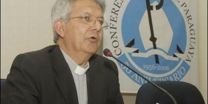 Monseñor Adalberto Martínez, nuevo presidente de los obispos paraguayos