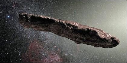 Oumuamua -