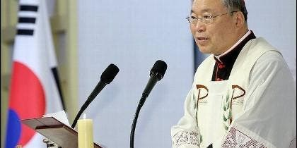Cardenal Andrew Yeom Soo-jung, arzobispo de Seúl
