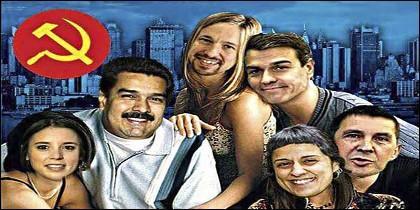 La nueva 'temporada española' de Friends, en redes sociales: Montero, Maduro, Iglesias, Sánchez, Anna Gabriel y Otegi.
