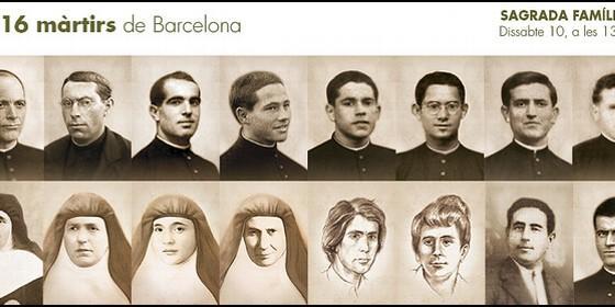 Resultado de imagen para beatificacion martires barcelona
