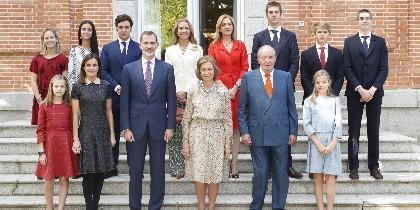 La foto de la celebración del 80 cumpleaños de la Reina Sofía. FOTO: Casa Real.