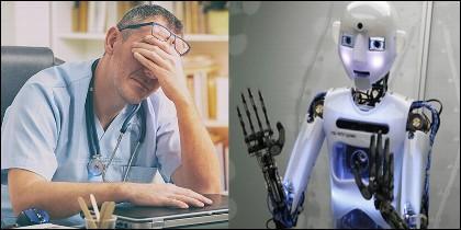 Médico y Robot