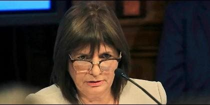 La Ministra de Seguridad argentina, Patricia Bullrich