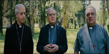 Los obispos Poli, Ojea y Colombo