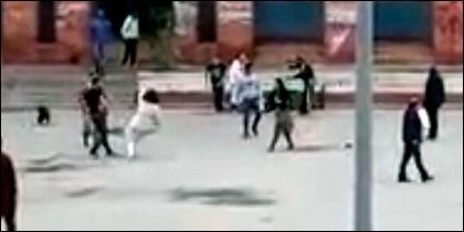 Pelea entre dos familias en Córdoba