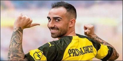 Paco Alcácer (Borussia Dortmund).