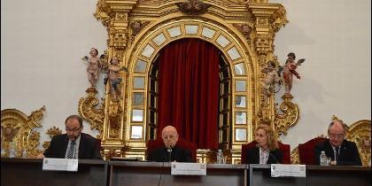 Blázquez abriendo las Jornadas de Teología de la UPSA