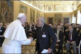 El Papa, en su encuentro con los científicos
