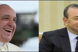 El Papa y el Rey Mohammad de Marruecos