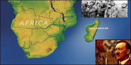 Hitler y los nazis pretendían convertie Madagascar en un inmenso campo de concentración.