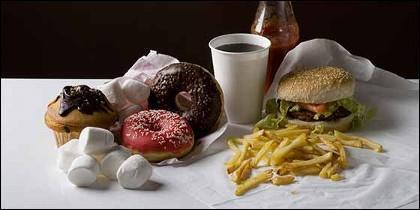 La comida chatarra y el cáncer