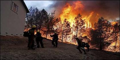 El incendio en California se convierte en el más mortifero de la historia de EEUU