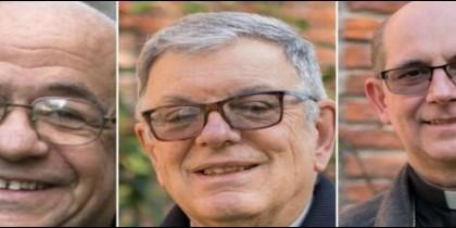 Fajardo, Collazzi y Tróccoli, nuevas autoridades de la Conferencia Episcopal del Uruguay