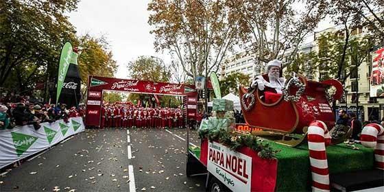 Carrera Papa Noel.