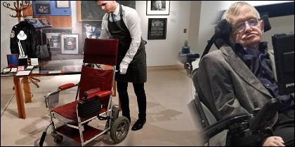 Silla de ruedas que usó Stephen Hawking