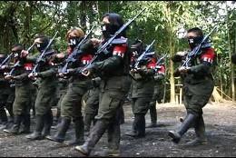 La presencia del grupo guerrillero colombiano ELN en territorio venezolano