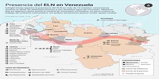 ELN opera en 12 estados de Venezuela — InSight Crime