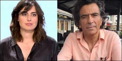 Emilia Landaluce y Arcadi Espada.