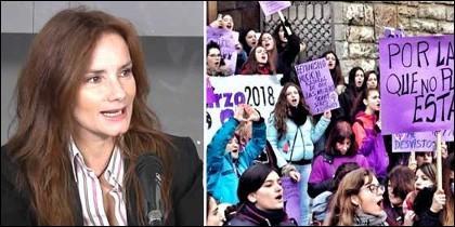 María Blanco; y una huelga universitaria contra el machismo.