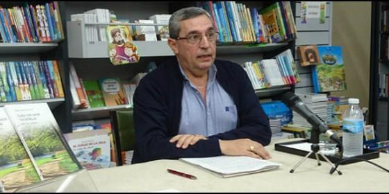 Miguel Ángel Mesa Bouzas, en la presentación de 'Cuida con amor tus estrellas'