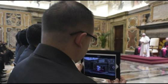 Audiencia del Papa con miembros del Pontificio Colegio Pío Latinoamericano de Roma