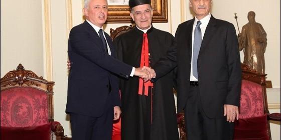 Samir Geagea y Suleiman Franyie, reconciliación después de 40 años
