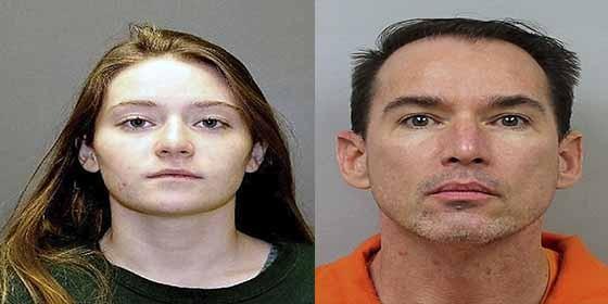 Lloyd Neurauter y su hija Karrie Neurauter, presuntos colaboradores en el asesinato de Michele Neurauteur la madre de la familia.
