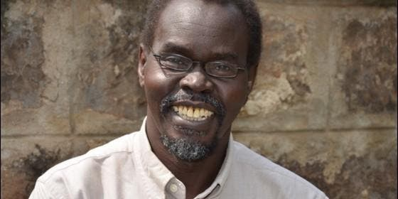 El jesuita keniano Victor-Luke Odhiambo